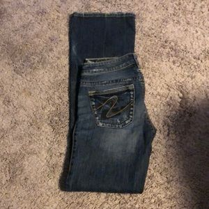 Silver jeans Tuesday bootcut size 26